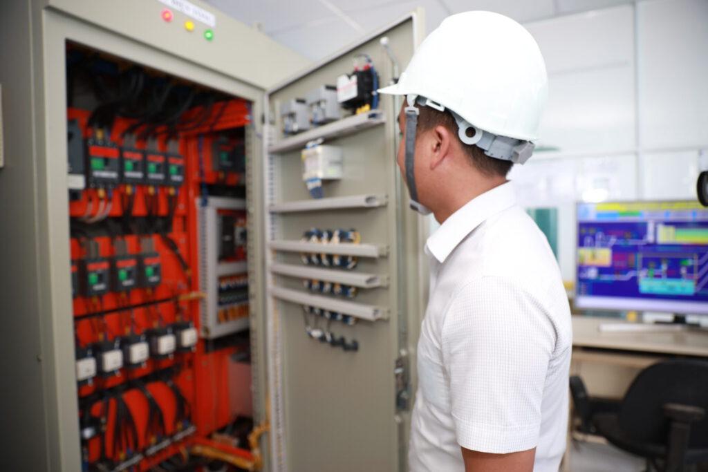 Tủ điện điều khiển Trạm bơm cấp II